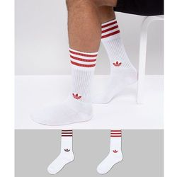 adidas Originals adicolor 2 Pack Crew Socks In Red CE5712 - Navy, kolor szary